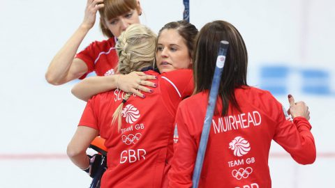 Team GB Win Bronze In Winter Olympics Curling Event