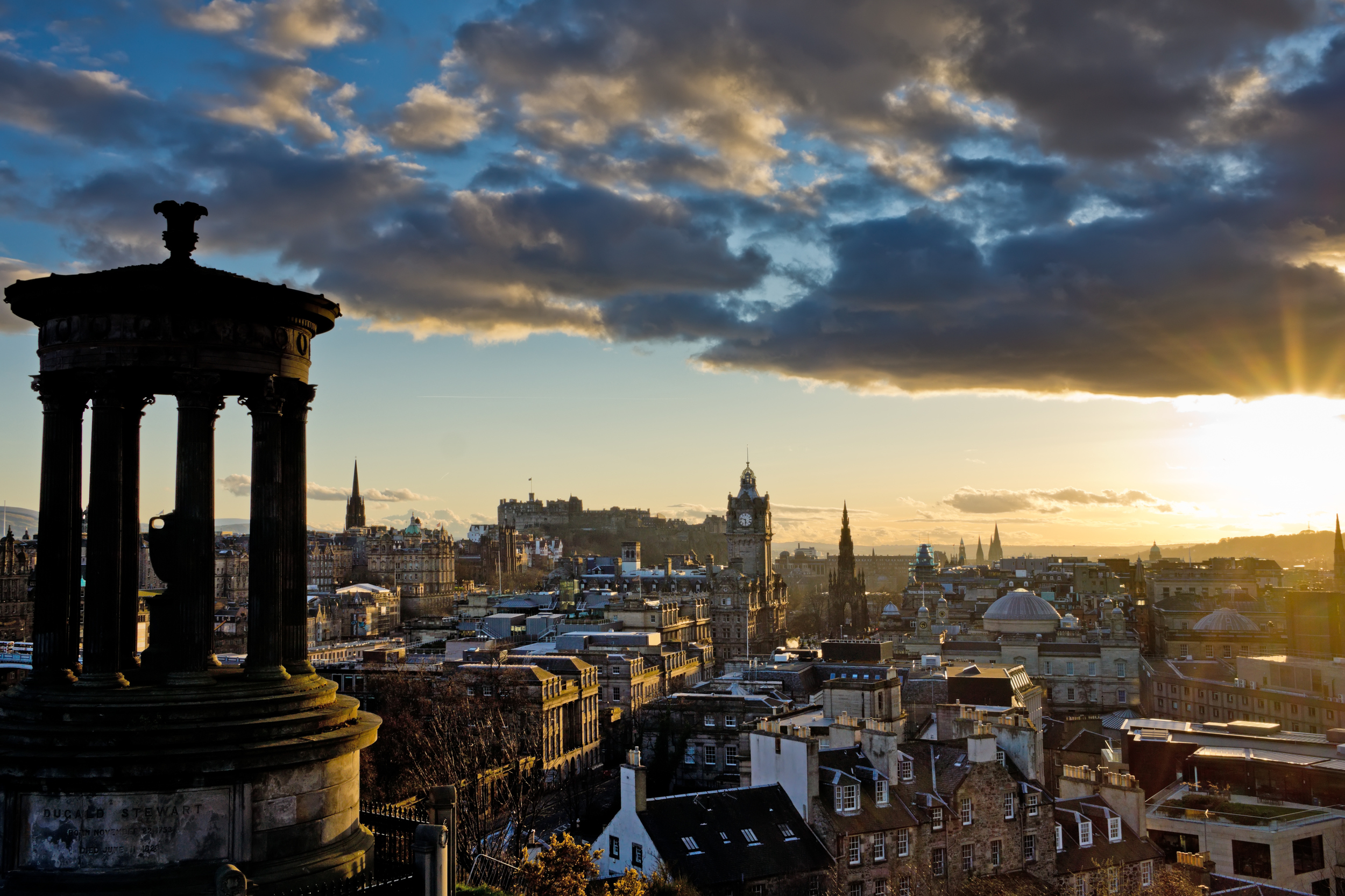 Edinburgh is the second best place to live in