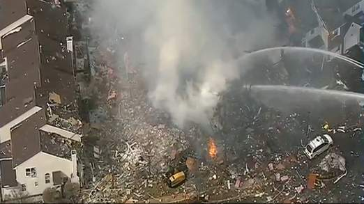 Explosion Of Gas Line Shocks New Jersey