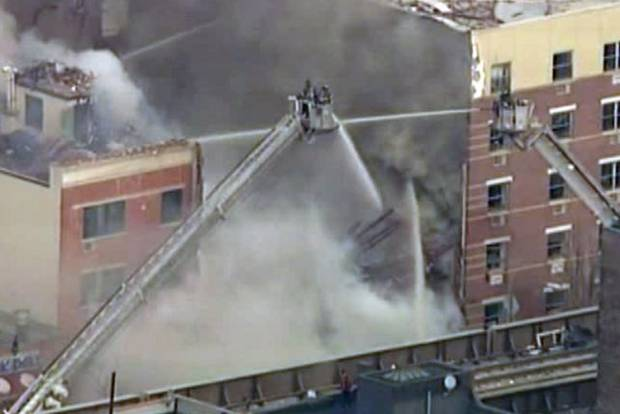 Explosion and Building collapse in New York City1