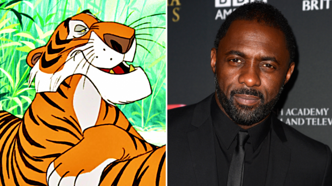 Idris Elba as Shere Khan In Disney Jungle Book