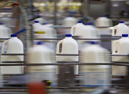 Milk Prices Fall in Supermarket War