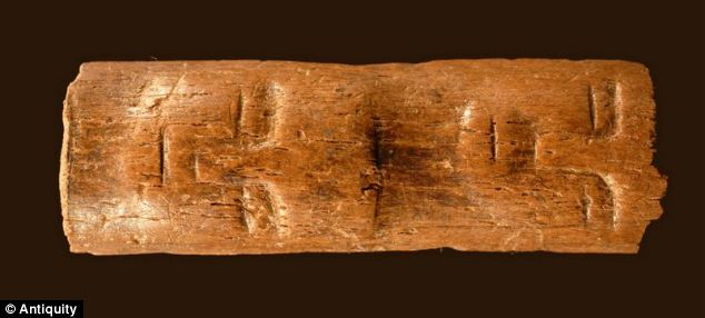 Mysterious 9,000 year old 'magic wand' unearthed from Southern Syria