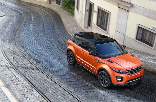 Superfast Range Rover Evoque Launched at Geneva Motor Show