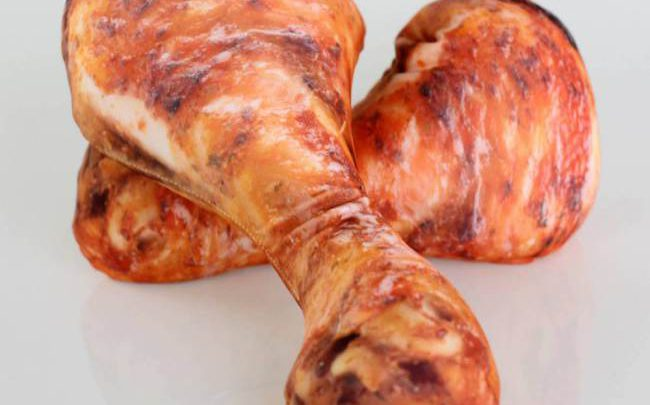 Like to Eat Chicken? Then You will Absolutely Like this Drumstick Pillow
