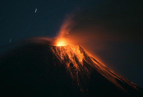 Volcano Eruption at Ecuador's Tungurahua