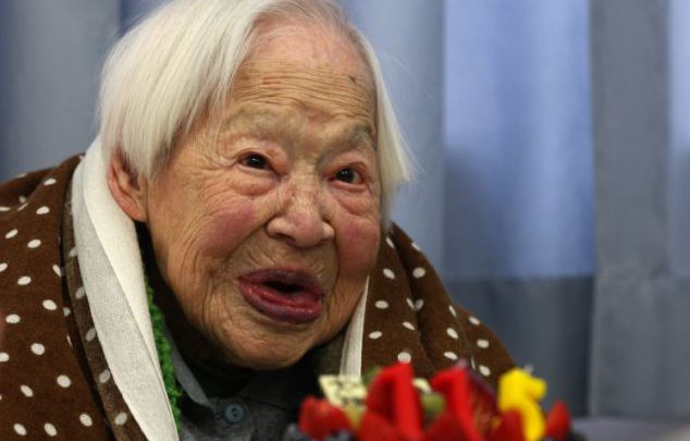 World's oldest person reveals secrets to long life
