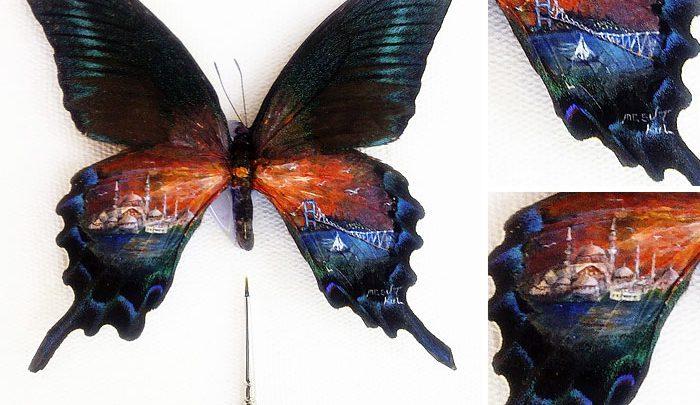 Tinier it gets, prettier it becomes! Micro art by Mesut Kul