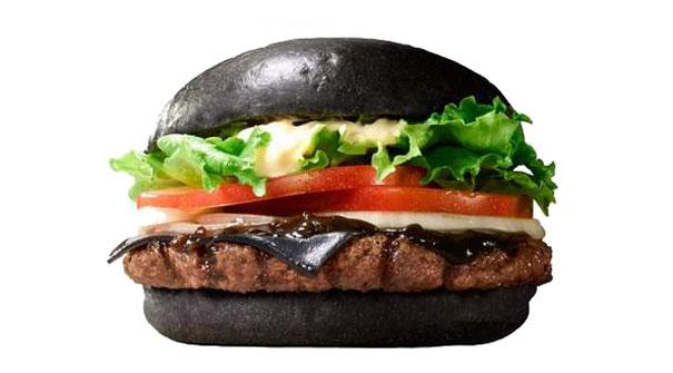 Burger Kings Black Burger