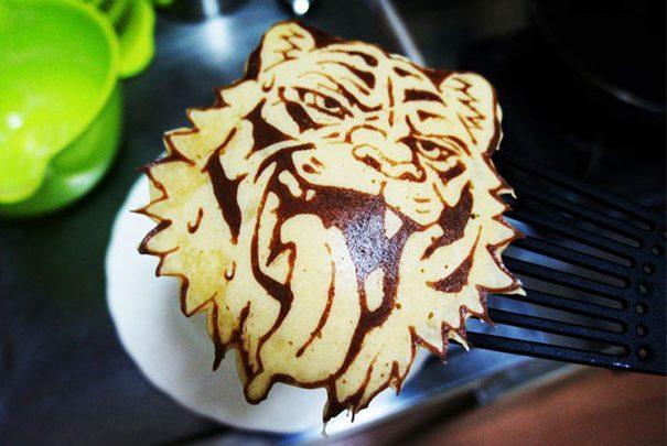 Wanna make some creative Pancake ? Here's it !!!
