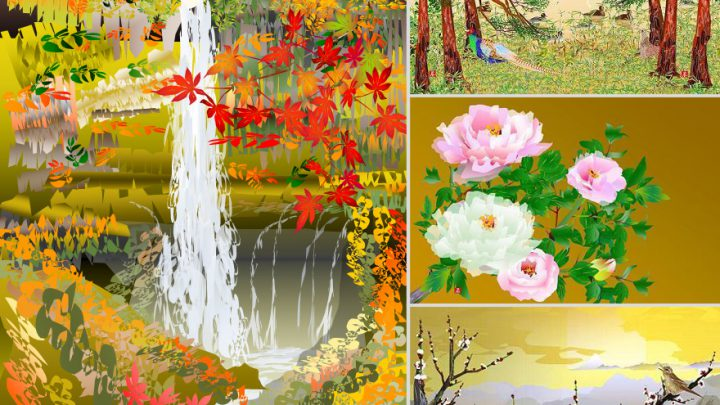 Can anyone create paintings by MS Excel? Yes, We Can!!!