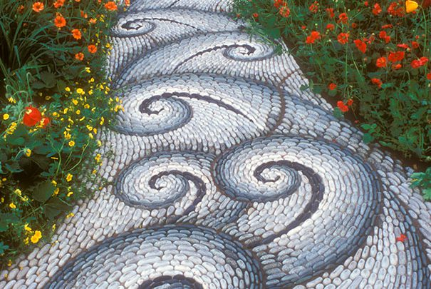 Rivers ? No,these are Magical Pebble Paths