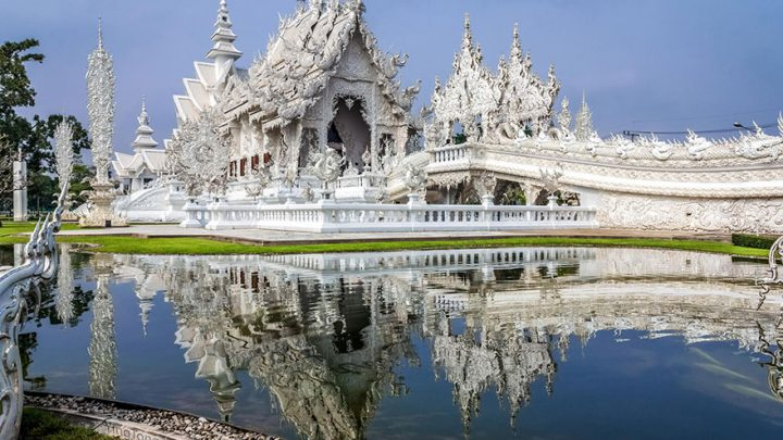 Heaven in Earth – Thailand's White Temple