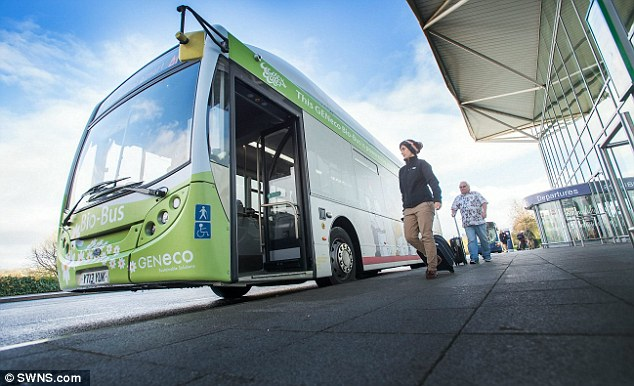 Britain's First Bus Powered by HUMAN WASTE Hits the Road
