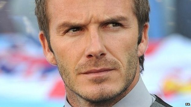 David Beckham involved in car crash1