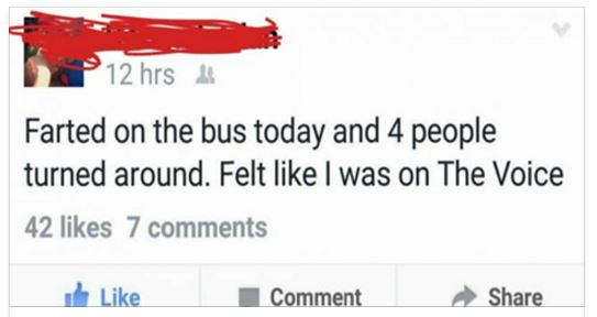 29 Of The Best Fb Statuses Ever: Not the usual crap we see