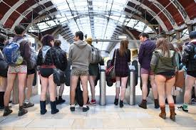 'No Trousers On The Tube' Day now an Annual  International event