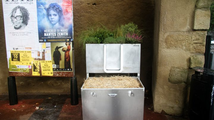 France turns to flower-growing toilet to fight public urination