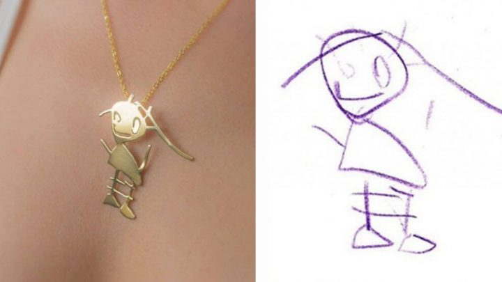 Turn Your Child's Drawing into Beautiful Pieces of Jewelry – Awesome