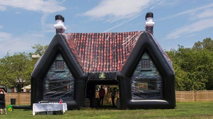 Now You Can Hire An Inflatable Cornish Pub For Your Next Garden Party
