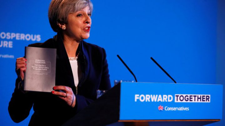Conservatives Release Full Manifesto For 2017 General Election