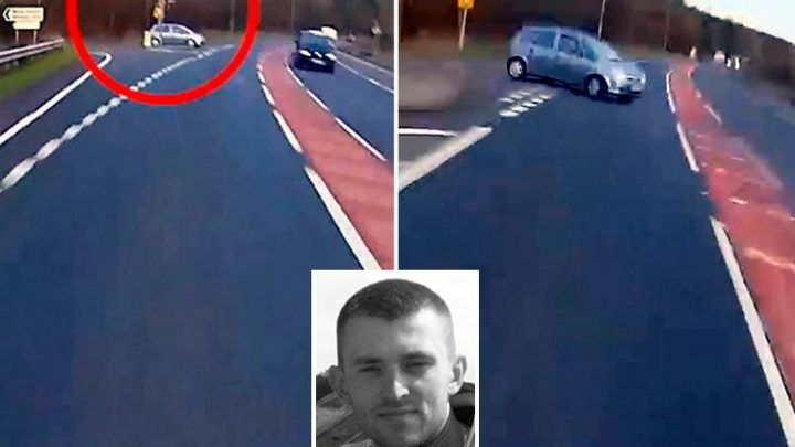 Dead Bikers Family Release Video Of His Final Moments To Promote Road Safety