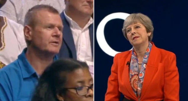 Audience Member Mutters 'That's Utter B*****ks' During Theresa May's Questioning On 'The Battle For Number 10'