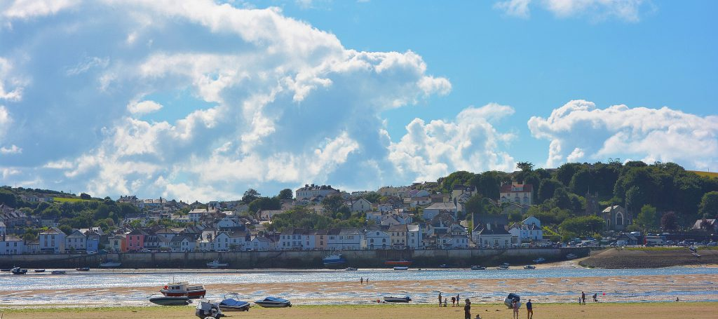 The view of Appledore from Instow