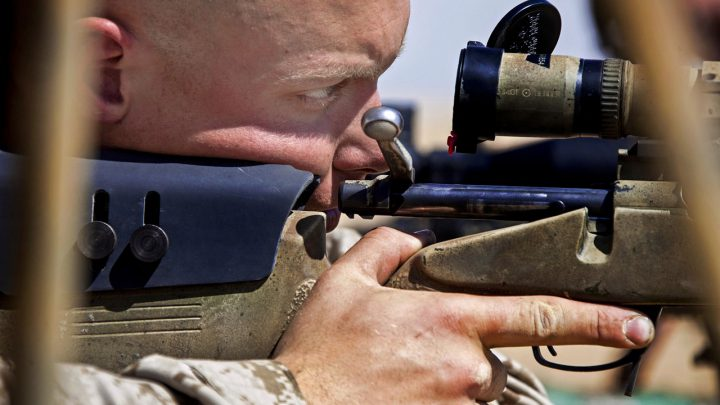 Sniper kills ISIS fighter from one and a half miles away!