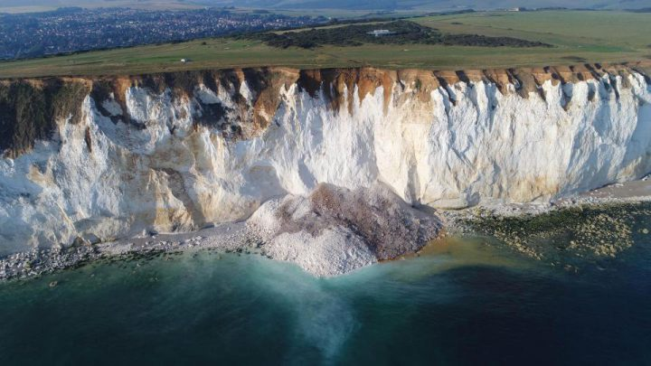 East Sussex Cliff Collapse Sparks 'Major Search & Rescue' For Trapped Sunbathers