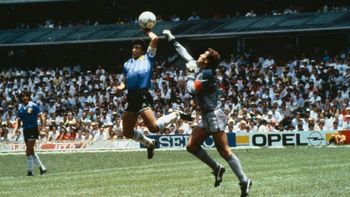 Beyond the Grave Confession From Linesman Saying He DID See Maradona Punch Ball During Epic 1986 England V Argentina Match