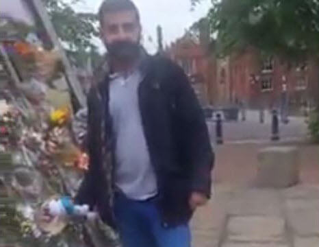 Two Men Caught Stealing Flowers And Gifts From Manchester Bombing Memorial