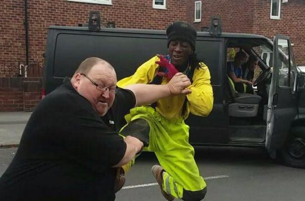 Labourer Goes All Kung Fu On Security Guard After Walking Off A Job