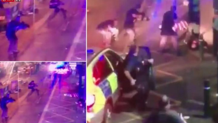 New Footage Of London Terror Attack Shows People Getting Stabbed And Attackers Being Shot Dead