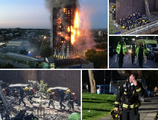 Watch Dramatic Footage Taken By Woman Who Was Trapped INSIDE The Grenfell Tower Fire