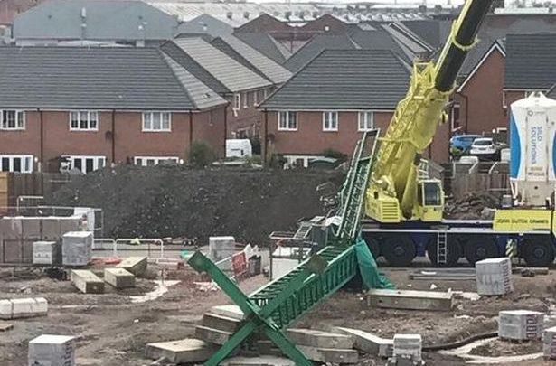 Two Workmen Killed In Crane Collapse At Construction Site In Crewe