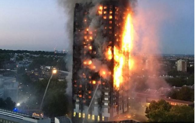 Up to 100 people missing in a London tower block fire