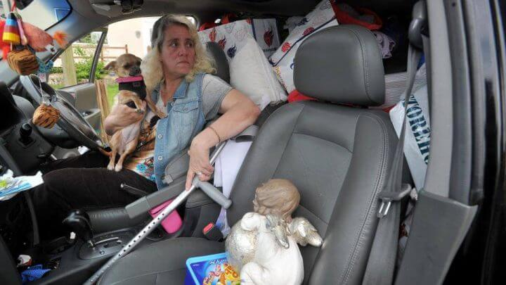 Ex NHS Nurse Living In Car And Eating Out Of Bins After Disability Allowance Cuts