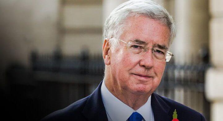 Defence Secretary Michael Fallon Resigns Due To 'Past Behaviour' After Sexual Harassment Claims