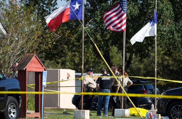 27 Killed In Another Mass Shooting In America As Gunman Opens Fire In Texas Church