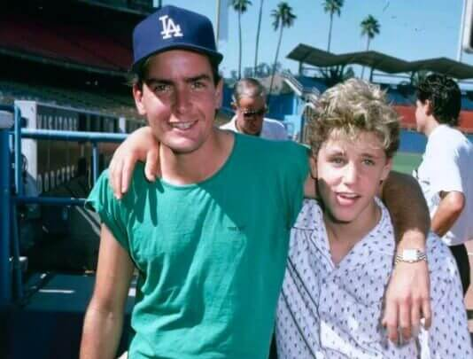 Charlie Sheen Denies Reports That He Raped Corey Haim When He Was 13 Yrs Old
