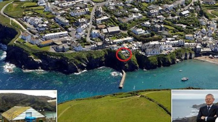 View Doc Martin Live From This Chalet For Sale in Port Isaac – With Parking!