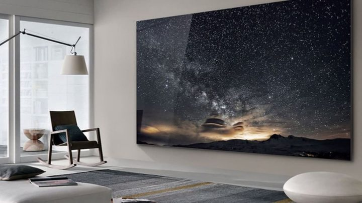 'The Wall' Samsung's NEW 219 inch screen will bring Doc Martin into your home