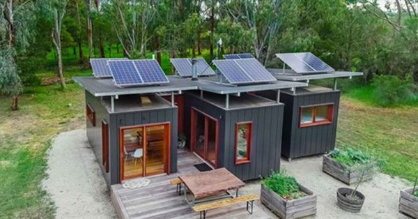 Talented Family Turns Three 20 Ft Containers into an Amazing Home!