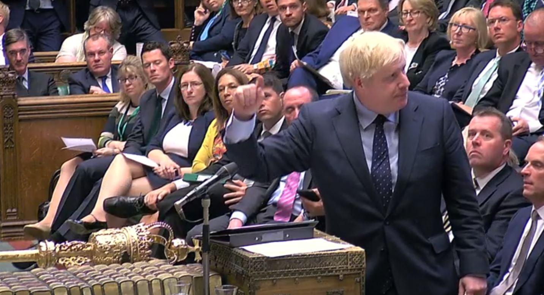 Boris in Parliament Live