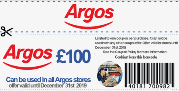 Argos have announced that everyone who shares this link will be sent £100 gift-voucher for their Black Friday Deals – Scam