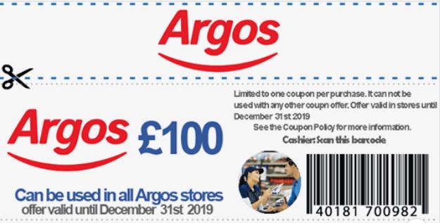 Argos scam image