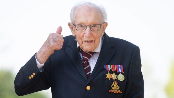 Captain Sir Tom Moore has died with coronavirus.